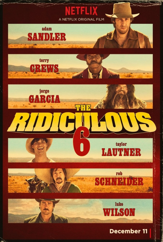 Нелепая шестёрка / The Ridiculous 6 (2015)